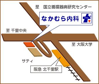 なかむら内科マップ